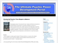 AAA 10625 Developing Psychic Powers