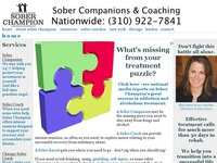 AAA 10656 Sober Companion from Sober Champion