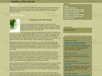AAA 12572 Healthy Alternative Medicines and News