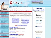 AAA 13000 Distance Learning Programs from OnlineDegreeZone.com