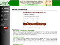 AAA 13083 Natural Acne Medicine