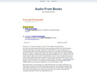 Audiofrombooks.com downloadable online