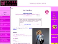 AAA 14249 The MissPiggyQuote Site.  All the Miss Piggy Quotes You Ever Wanted.