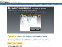 AAA 14868 Epiware: Open Source Document Management