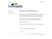 AAA 16466 SustainabilityForum.Com - Your Global Sustainability Community!