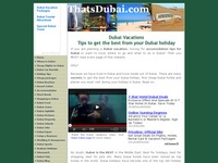 AAA 17039 Dubai vacations - Secret tips for Dubai holidays and travel