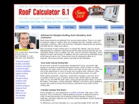 AAA 1739 Software For The Roof Shingles Contractor
