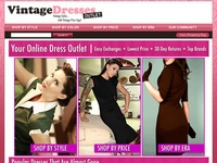 AAA 21348 Vintage Dresses Outlet