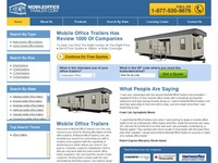 AAA 21566 Mobile Office Trailer