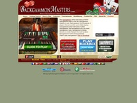 AAA 2886 Backgammon Masters : Online Backgammon Software