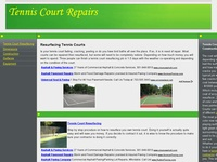 AAA 4273 Tennis Court Repair