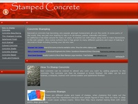 AAA 4274 Stamp Your Concrete