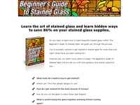 AAA 4827 Stained Glass Tips for Beginners