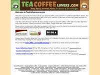 AAA 5961 Tea Coffee Lovers