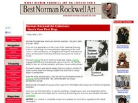 AAA 6387 Where Norman Rockwell Art Collectors Begin