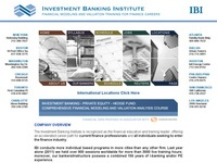 AAA 6658 Investment Banking Institute