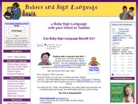 AAA 6865 Baby Sign Language - Teach your infant or toddler signing!