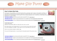 AAA 8344 How To Make Silly Putty
