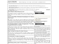 AAA 9249 Online auctions encyclopedia