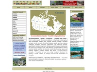 Accommodations Canada - Hotels, Bed and Breakfasts, Vacation Rentals, Cottages